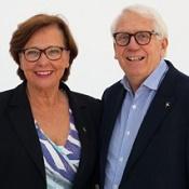 Zaiga och Thomas Magnusson
